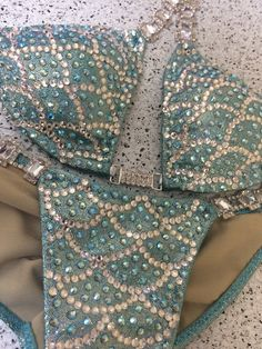 Custom Mermaid Elite Plus (Choose any color swatch/fabric)Competition Bikini Diamond Bikini, Bikini Workout, Bikini Fitness, Bikini Competition Suits, Bikini Prep, Posing Suits, Figure Competition, Npc Bikini, Dress To Impress