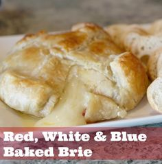 Bake Brie Loaf is the perfect appetizer!
