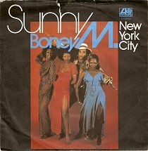 45cat - Boney M - Sunny / New York City - Atlantic - UK - K 10892