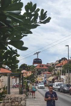Travel 778 m up Mt Srdj for views over Dubrovnik, Croatia | heneedsfood.com