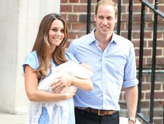 Kate Leaves The Hospital With William And Baby — Meet HRH, Prince Of Cambridge!