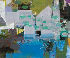 """Gallery Henoch - John Evans, The Still Mind, Oil on Canvas, 60"""" x 72"""""""