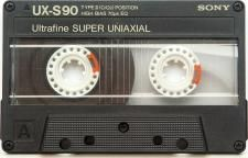 SONY UX-S/90. Cartucho Compact Cassette