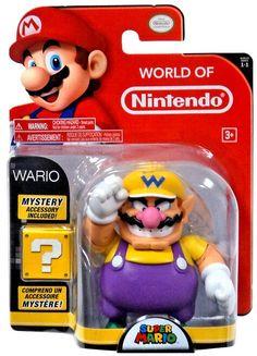 "Super Mario Odyssey Goomba with Cappy SEALED Super Mario 5/"" Action Figure"