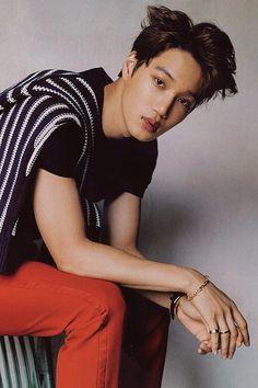 #kai | #kimjongin | #jongin | #EXO ♥ Kris Wu, Luhan And Kris, Korean Boy, Exo Korean, Baekhyun Chanyeol, Chen, Kim Kai, Kim Minseok, Kpop Exo