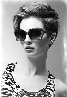 ☺Keep your bob length on the top; get rid of bulk at sides. -- Summer Short Collection Hair: Allan Munguia Makeup: Teresa Litchfield Photo: Allan Munguia