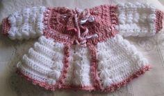 casaquinhos de inverno de crochê para enxoval bebê