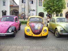 Ladybugs parade in Old Town Center :)) Vw Beetles, Ladybugs, Old Town, Romania, Vehicles, Old City, Vw Bugs, Ladybug, Car