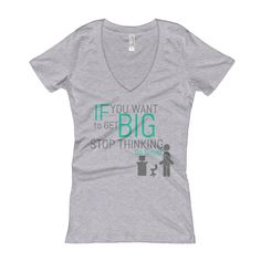 Law of attraction, think BIG. Womens V-Neck Tshirts available now! Thinking big can get you to some pretty BIG places, keep on treaking entrepreneurs! You will get there ;) #Motivation #Inspiration #Perspective #Instabuyers #upperclass #livingthedream #womensappearal #Thinkbig #DailyAdvice #MotivationMonday #Womens #T-shirts #entrepreneur  https://full-stock.com/products/if-you-want-womens-v-neck-t-shirt?utm_content=buffer535d2&utm_medium=social&utm_source=pinterest.com&utm_campaign=buffer