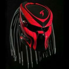 Predator helmet motorcycle street fighter style red and blac… – Motorcycles Wolf Predator, Predator Helmet, Predator Alien, Motorcycle Events, Motorcycle Helmets, Helmet Accessories, Motorcycle Accessories, Half Helmets, Airsoft Mask