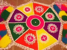 20+ Beautiful Rangoli Patterns and Designs!!
