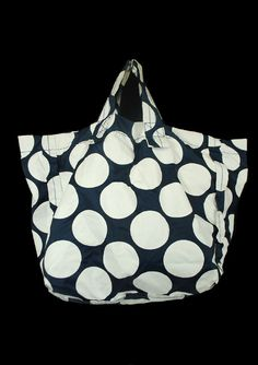 A tricot comme des garcons /TRICOT COMME des GARCONS dot pattern nylon tote bag from Japan