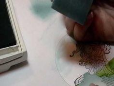 Background Techniques ~ Sponging Sky Part 2
