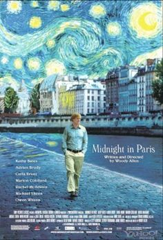 Midnight in Paris. I absolutely detest everything about Woody Allen.  But, this movie he wrote and directed is nothing short of amazing.  Another plus, he wasn't in the film :)