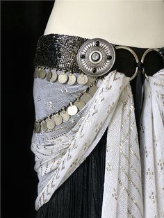 Tribal Fusion Belly Dance Belt Adornment  Zhuzik  by mezuri, £105.00