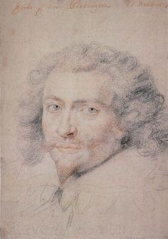 Portrait of Geao Peter Paul Rubens Oljemålningar,Ramar,spegel 52997 Peter Paul Rubens, Baroque Painting, Baroque Art, Drawing Sketches, Sketching, Art Drawings, Old Master, Portrait Inspiration, Art Sketchbook