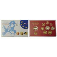 Bundesrepublik Deutschland, Euro-Kursmünzensatz 2014, ADFGJ komplett, PP: Euro-Kursmünzensatz 2014 ADFGJ komplett. mit… #coins