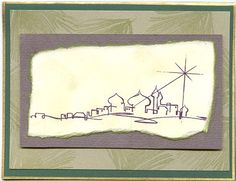 Bethlehem Christmas card  (Dyan Cross -  http://pinterest.com/dyancross