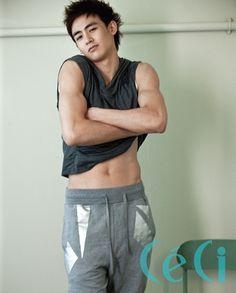 2PM Nichkhun stripping for CeCi magazine - Sexy KPOP Guys #2pm #kpop #nichkhun