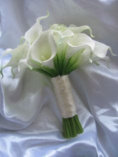 Real touch calla lily bouquet