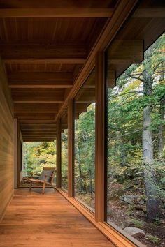 Refugio de lujo: The Bear Stand, del estudio de arquitectura Bohlin Cywinski Jackson | Arquitectura