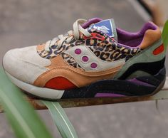 "Bodega x Saucony Elite G9 Shadow 6 – ""Leopard"""