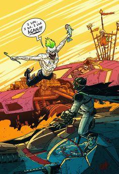 Batman: Fury Road - Created by Andrew Kwan