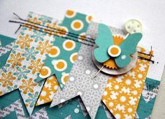 Trend Watch - Layers n' pennants! #LilyBee Design