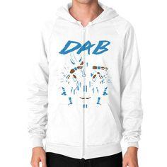Dab On Em shirt Zip Hoodie (on man) Shirt