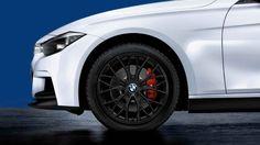 BMW 3 Series Sedan, BMW M Performance, Winter complete wheel sets 18'' light-alloy wheel, Double-spoke 405M