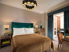Hotel Designs Industry News: Flemings Mayfair shows off stunning, elegant new suites as part of million refurbishment Architectural Digest, Double Room, Bespoke Furniture, Elegant, Interior Inspiration, Modern, London, Luxury, Bed