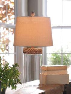 Filler Glass Table Lamp | Kirkland's