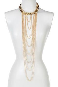 Cascade Chain Necklace