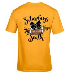 Georgia Tech Yellow Jackets Gameday shirt - Saturdays in the South