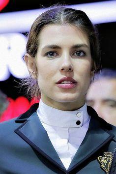 Charlotte Casiraghi attends the Gucci Paris Master 2014
