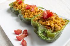 Recipe:+Skinny+Taco+Stuffed+Peppers