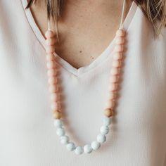Chewelry & Babe Teething Necklace Teething Necklace, Pearl Necklace, Babe, Necklaces, Pearls, Jewelry, Fashion, Jewlery, Moda