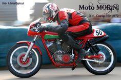 Moto Morini 3 1/2 350 Corsa 1972 Vintage Sport, Cafe Racer Motorcycle, Cafe Racers, Bikers, 3, Motorcycles, Racing, Vehicles, Antique Cars