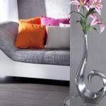 vázy dekoračné silver