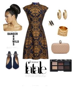 """""""Local"""" by princesscharming-1 ❤ liked on Polyvore featuring mode, Chi Chi, Maiyet, House of Harlow 1960, Chloé, Alexander McQueen, Christian Louboutin, NARS Cosmetics et Boohoo"""