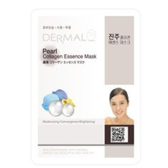 DERMAL Pearl Collagen Essence Mask 10sheets Korean Import * Want to know more, click on the image.