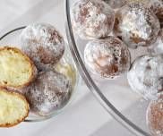 Mini pączki z budyniem Potato Salad, Muffin, Potatoes, Pudding, Cheese, Breakfast, Ethnic Recipes, Beignets, Fritters