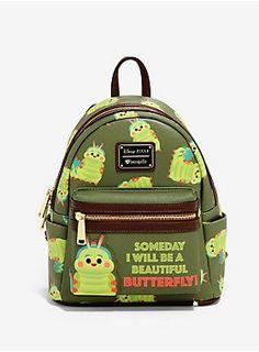 Loungefly Disney Pixar A Bug's Life Heimlich Mini Backpack - BoxLunch Exclusive, Small Backpack, Backpack Purse, Disney Pixar, Disney Fun, Disney Movies, Disney Purse, Disney Handbags, Coach Disney, Cute Mini Backpacks