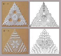 triangle crochet patterns | make handmade, crochet, craft by Taira Villanueva