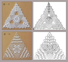 triangle crochet patterns | make handmade, crochet, craft by Taira Villanueva