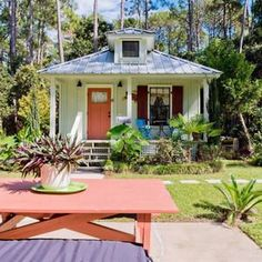 19 Tiny Beach Cottages You Can Rent | We're crushing hard on these small abodes that are perfect home bases for big adventures.