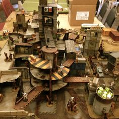 Man, this is how you build multi-level terrain.