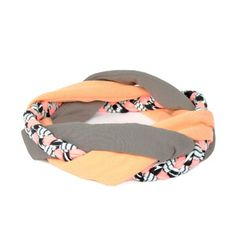 Mia Headband Coral Grey, 29€,  by SAAKO !!