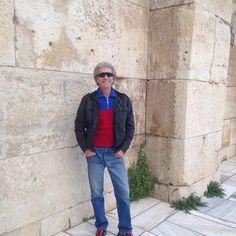Vassilis,at the Herodes Atticus Odeon,under Acropolis..