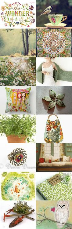 Garden Days by Danny on Etsy--Pinned with TreasuryPin.com